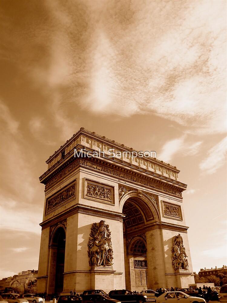 Arc de Triomphe by Micah Sampson