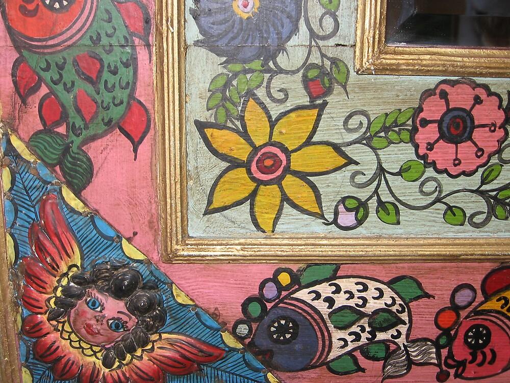 Angel Mirror in Mexico by Harriette Knight