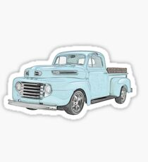 1950 Ford F1 Pickup Sticker