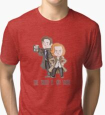 The X Files: The Truth Is Out There Tri-blend T-Shirt