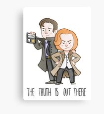 The X Files: The Truth Is Out There Canvas Print
