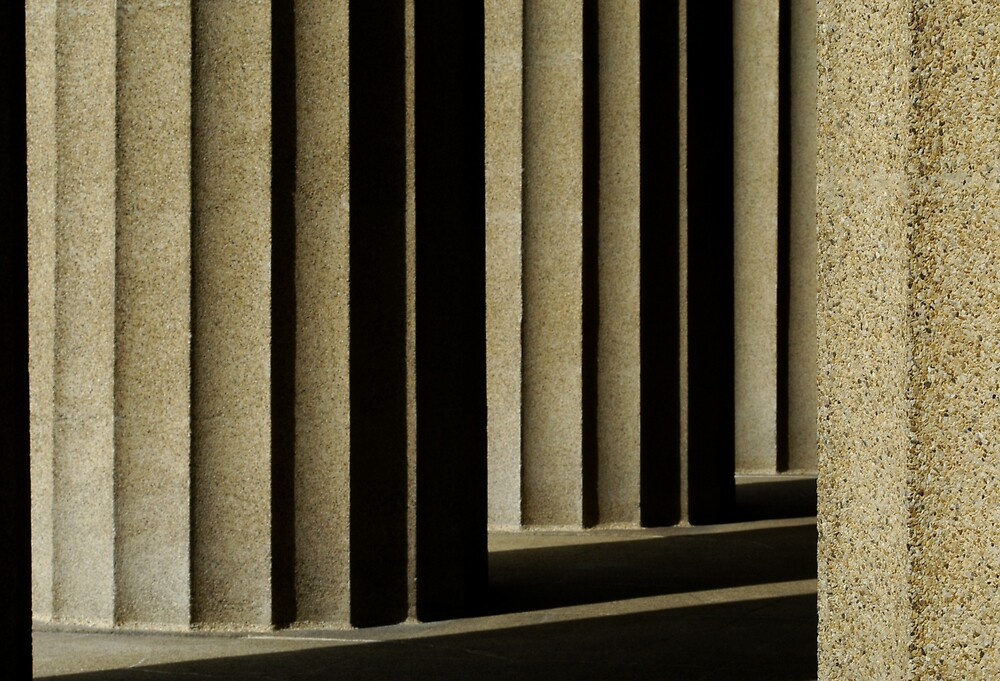 Nashville columns by JimWhitham
