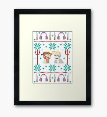 Ugly Sweater Framed Print
