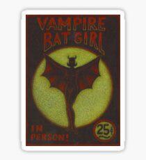 Vampire Batgirl Sticker