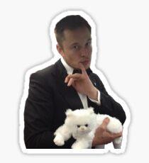 Elon Musk Dr. Evil Sticker