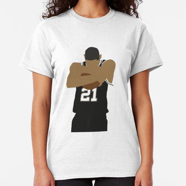 Tim Duncan Ball Hug Classic T-Shirt