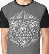 Table Top RPG D20 Graphic T-Shirt