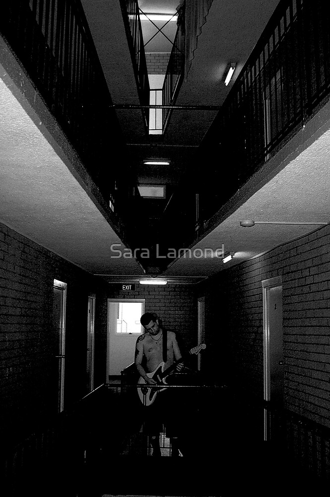 Gritty City 6 - Sounds in the stairwell  by Sara Lamond