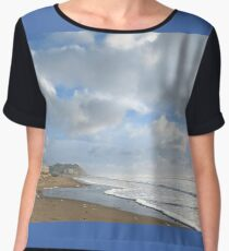 Spring at the Beach Chiffon Top
