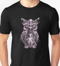 Biomechanical Owl Baphomet Unisex T-Shirt