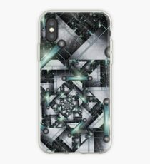 to capture the silver knight iPhone Case