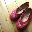 Little Pink Slippers by Barb Leopold