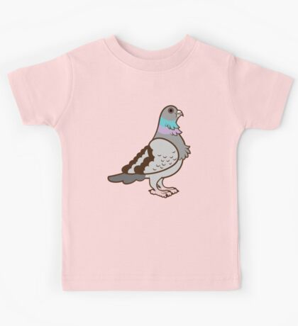 Pigeon Pattern Kids Clothes