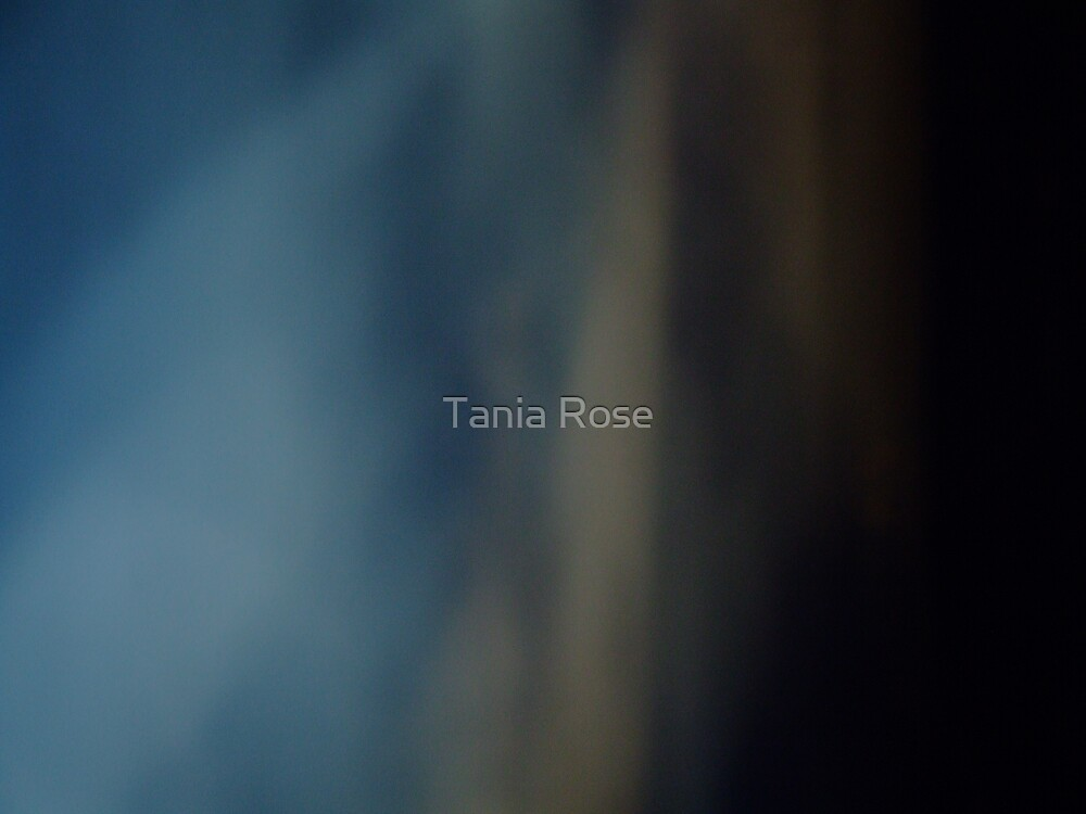 Abstract Blue by Tania Rose