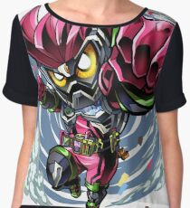Mighty Action X Chiffon Top