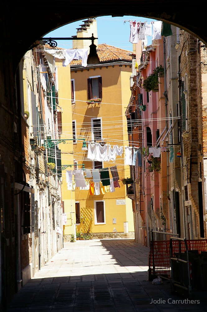 venice washing by Jodie Carruthers