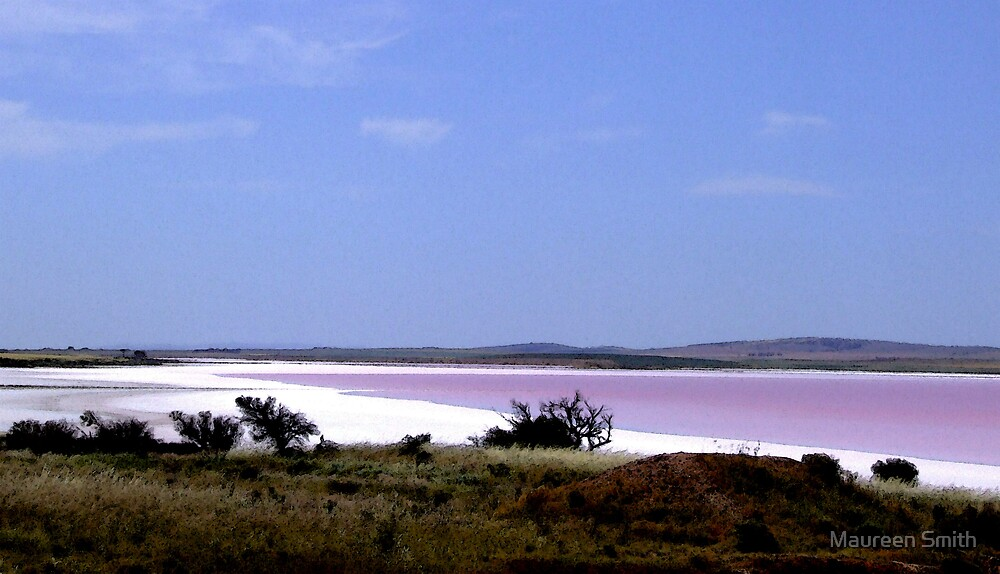 Pink Lake by Maureen Smith