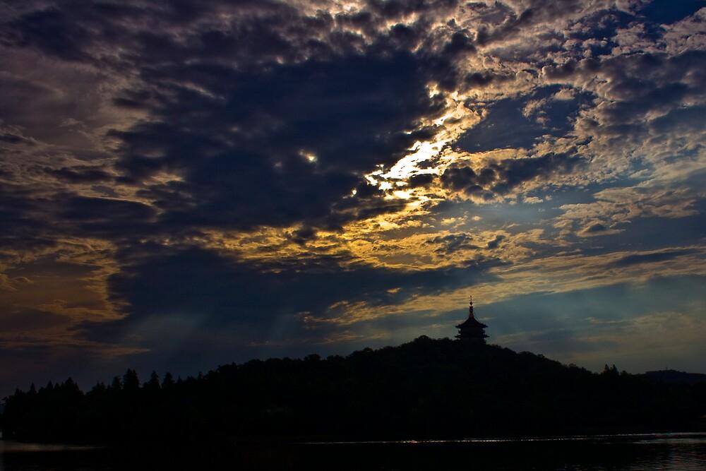 Morning Pagoda by richymac