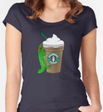 Geckocinno Women's Fitted Scoop T-Shirt