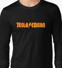 Tesla/Edison vs. AC/DC (Monsters of Grok) T-Shirt