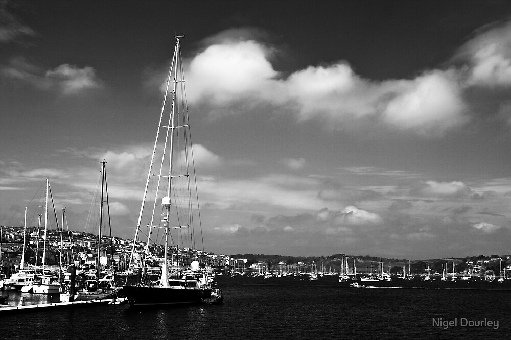Yachts @ Port Pendennis Marina by Nigel Dourley
