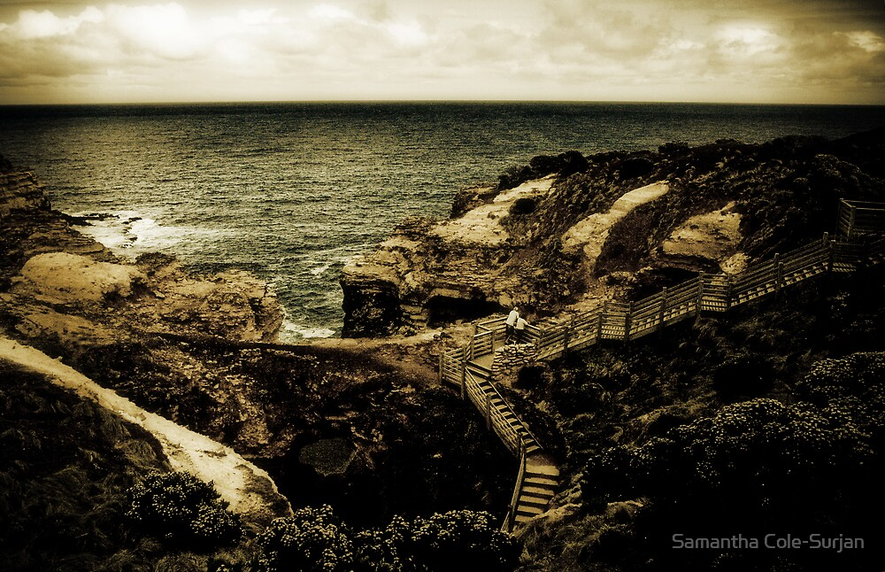 The Grotto, The Great Ocean Road, Victoria by Samantha Cole-Surjan