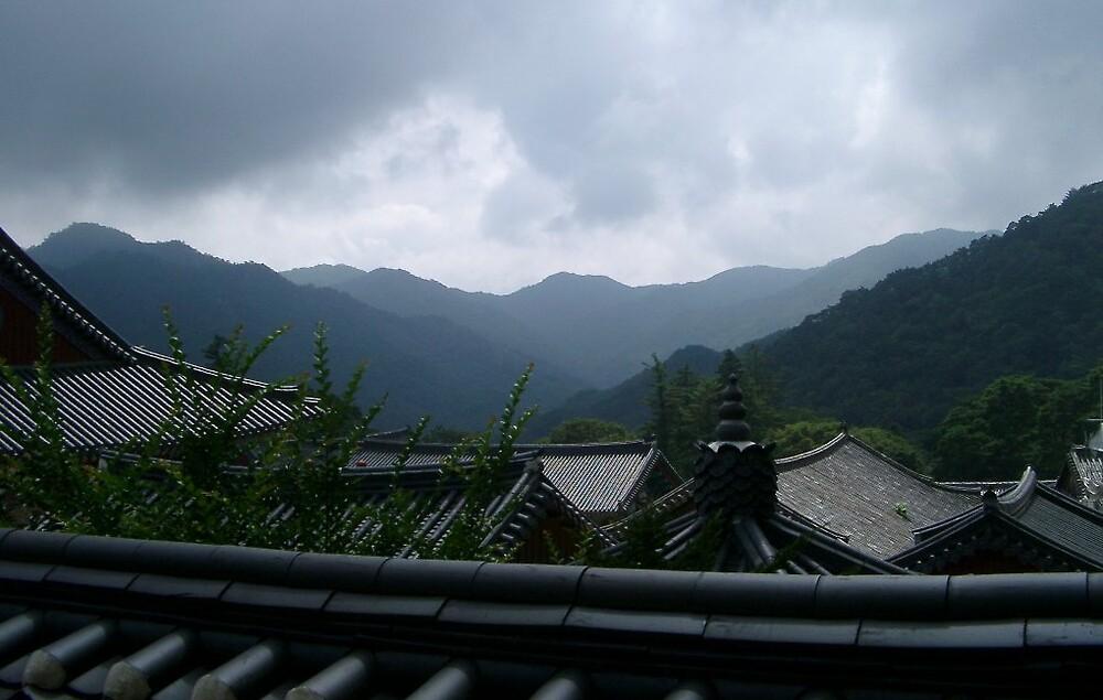 Korean mountains by altix