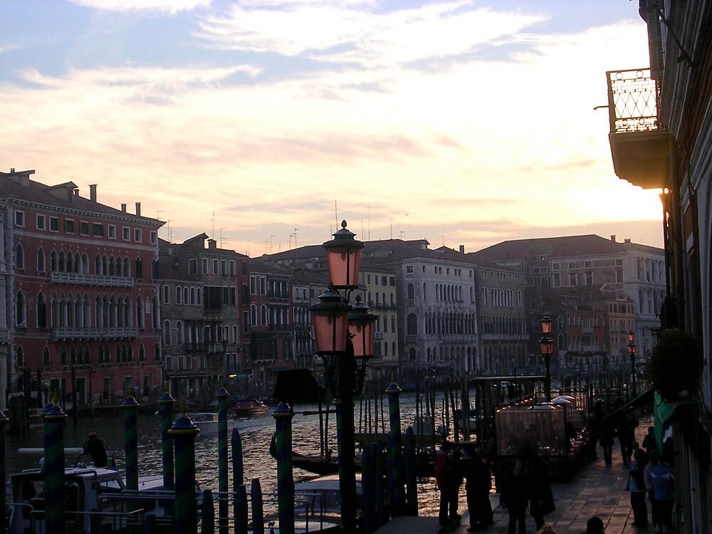 Venice in winter by altix