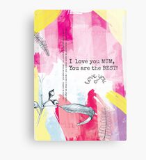 Mothers Day - Abstract Design 1 Metal Print