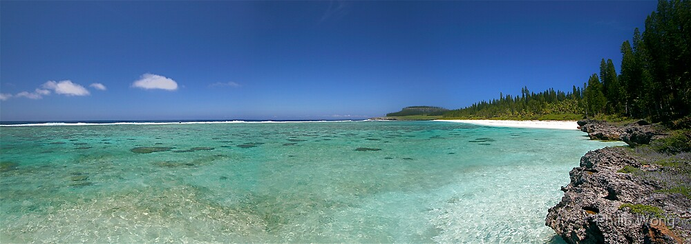 New Caledonia - Plage de Shini by Philip Wong