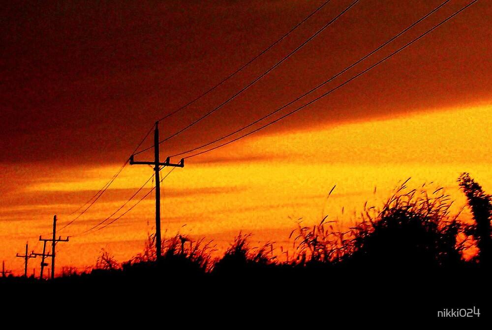 blazing sky by nikki024