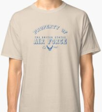 property of air force Classic T-Shirt