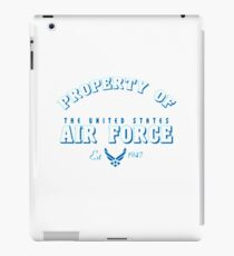 property of air force iPad Case/Skin