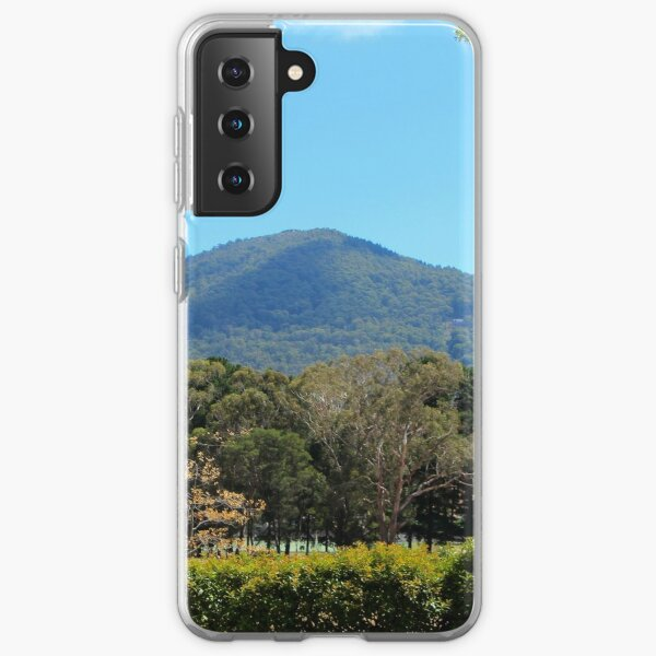 Mt Macedon - close, but not close enough Samsung Galaxy Soft Case