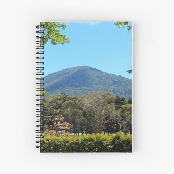 Mt Macedon - close, but not close enough Spiral Notebook