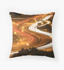 Freeway Perth Australia Throw Pillow