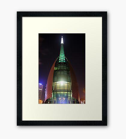 Swan Bell Tower Perth Western Australia Framed Print
