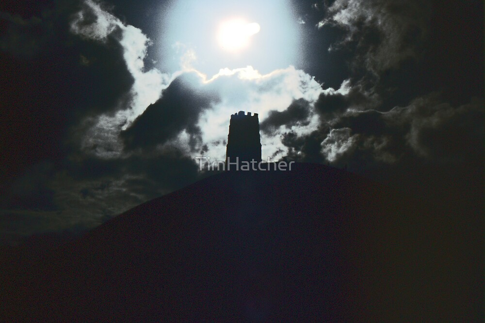 Glastonbury Tor by Moonlight by TimHatcher