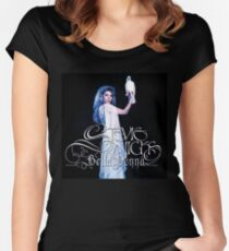 STEVIE NICKS WITH BIRD Women's Fitted Scoop T-Shirt