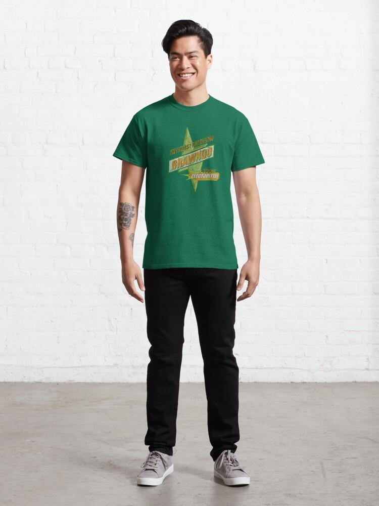 Alternate view of BRAWNDO the thirst mutilator (Idiocracy) Classic T-Shirt