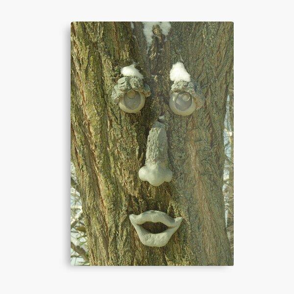Tree Man Metal Print