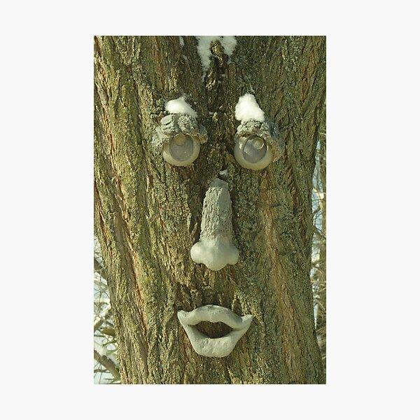 Tree Man Photographic Print