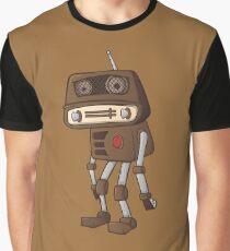 Saddest Robot Graphic T-Shirt