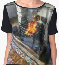 Polly Put The Kettle On Women's Chiffon Top