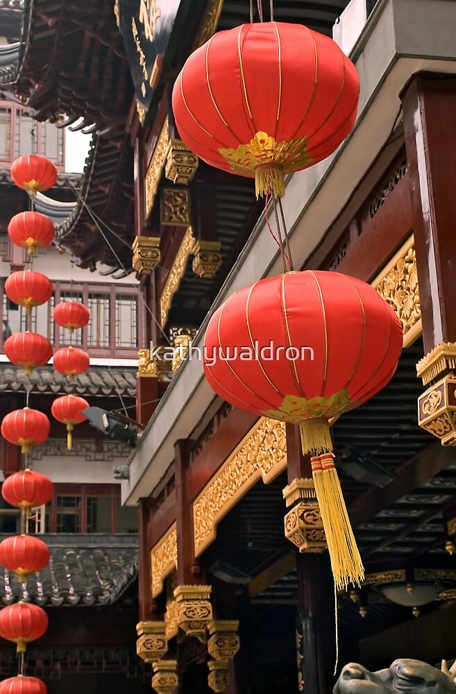 red lanterns by kathywaldron