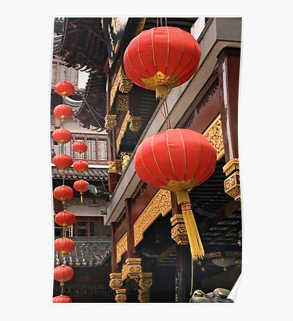 red lanterns Poster