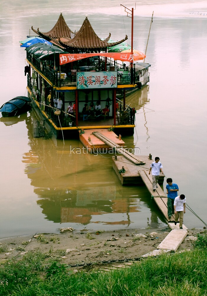 tea boat by kathywaldron