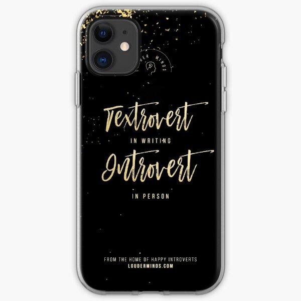 Textrovert iPhone Soft Case