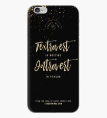Textrovert iPhone Case