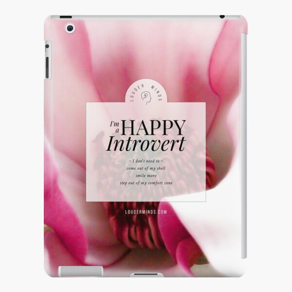 I'm a Happy Introvert iPad Snap Case
